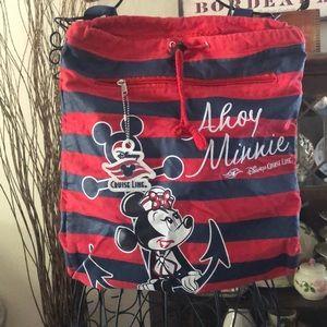 Disney cruise line backpack tote